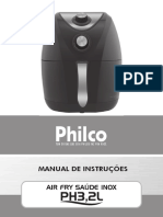 Manual Airfryer Philco