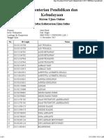[Cetak Daftar Hadir] 11 Nov 15