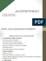 Cce 0370 - Teoria Das Estruturas i - PDF