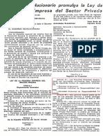 1. Decreto Ley 21435 - 24 Febrero 1976