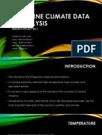 Philippine Climate Data & Analysis