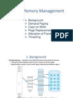 10. Virtual Memory Management