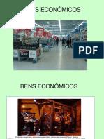 Bens Econômicos e Teorias Do Valor