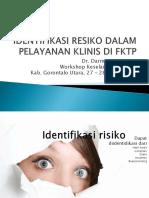 IDENTIFIKASI RESIKO DALAM PELAYANAN KLINIS DI FKTP.pptx