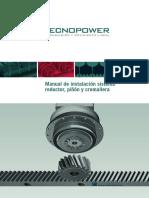 Manual Instalacion Reductor Pinon-cremallera