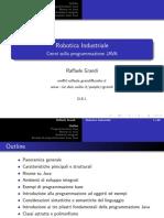 Raffaele Grandi - Robotica Industriale (Cenni Programmazione Java) - Pt.1