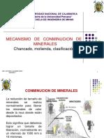 2.0 Mecanismo de Conminucion de Minerales