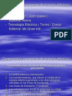 Presentación de Generación y Transporte de Energía Eléctrica 2018