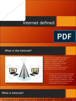 Internet Defined