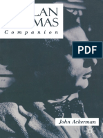 (Macmillan Literary Companions) John Ackerman (Auth.) - A Dylan Thomas Comp