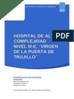 Informe Del Hospital de Trujillo - Belen
