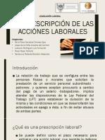 Prescripciones Laborales Equipo 6