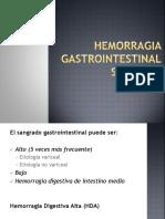Hemorragia Gastrointestinal Superior
