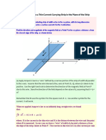 PDF File Solution Magnetic Field Current Carrying Strip Ready for Web Page Upload 1