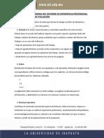 Estructura general  informe