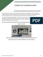 Como fazer placa circuito impresso