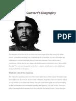 Che Guevara's Biography