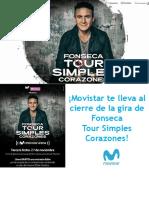Oferta Movistar Arena Con Fonseca