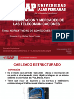 CLASE - SEMANA N°7 normatica de conexiones y redes