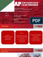 SEMANA 4 CONDICIONES GENERALES DE CONTRATACIÓN - 2019-II