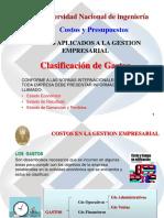 Cap III Clasif Gastos
