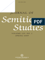 Journal of Semitic Studies-Vol. 1-2009.PDF