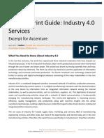 Accenture Industry 4 Excerpt for Accenture Report