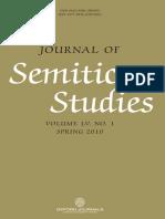 Journal of Semitic Studies-Vol. 1-2010.PDF