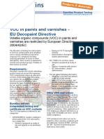 Voc in Paints Decopaint Directive En
