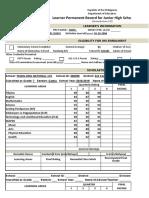 School Form 10 SF10 Learner's Permanent Academic Record for Junior High School - Copy (2)1.xlsx