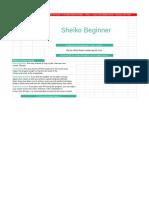 Sheiko Beginner Program | LiftVault.com
