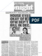 Peoples Tonight, Oct. 10, 2019, House eyes okay of OFW dept bill in Dec..pdf