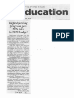 Philippine Star, Oct. 10, 2019, DepEd feeding program gets 20% hike in 2020 budget.pdf