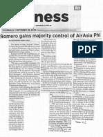 Philippine Star, Oct. 10, 2019, Romero gains majority control of Air Asia Phl.pdf