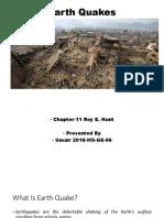 Earth Quakes Part 1