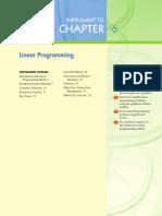 Ch06 Linear Programming