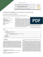 Una Revisión de La Termodinámica Química Aplicada a La Cloración de V2O5.
