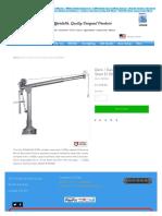 Deck _ Davit Crane Stainless Steel E1000SW _ Endurance-marine