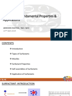 Surfactants- Fundamental Properties and Applications (1) [Autosaved]