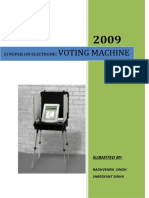 SYNOPSIS Votiong Machine.doc11