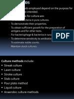 8 Culture Methods