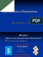 (10)Instrumentos  Financieros