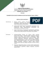 Sk Perubahan KPMD