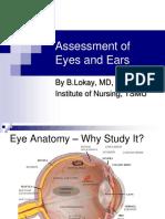 04 - Assessment of Eyes & Ears
