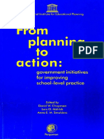 From Planning to Action