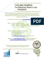 Work Recycling Flyer