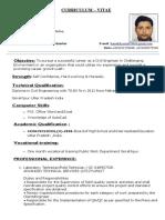 Kamakhyamall Resume -New