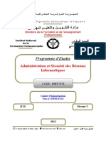 Programme d'Etude ASRI