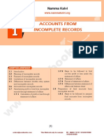 Namma Kalvi 12th Accountancy Unit 1 Sura English Medium Guide