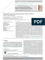 Neutrosophic Graph Cut-based Segmentation Scheme for Efficient Cervical Cancer Detection